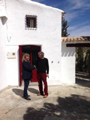 Welcoming Sir Bib to his wonderful new home in the Ricote Valle