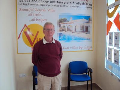 Welcoming John to the Ricote Valley