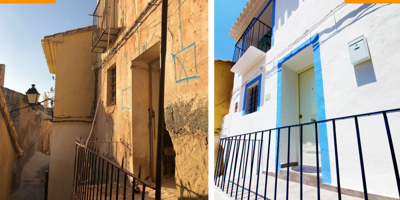 Recent Restorations & Modernisation Projects. Casa Piedra