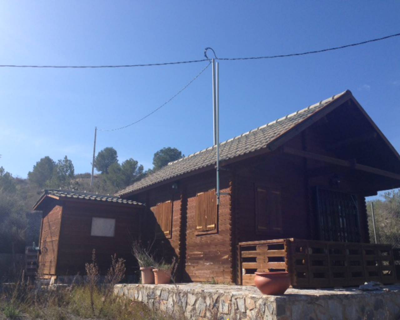 For Sale - Wooden chalet - Ricote