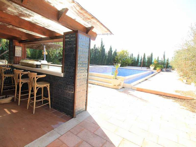 Country House - For Sale - Ricote - Fantastic wide open views over the countryside to